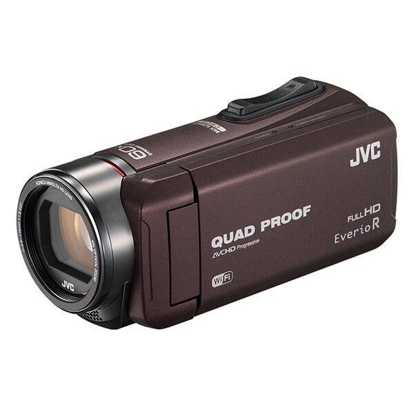 JVC 防水ビデオカメラ GZ-RX600 ブラウン