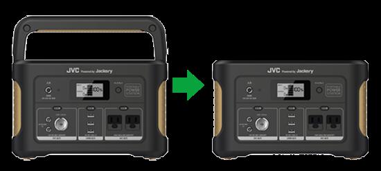 JVCケンウッド ポータブル電源 BN-RB62-C たっぷり大容量タイプ 容量626Wh AC・USB・シガーソケットポート搭載