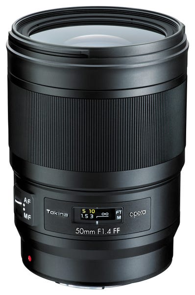 Tokina opera 50mm F1.4 FF 単焦点レンズ (CANON EFマウント)