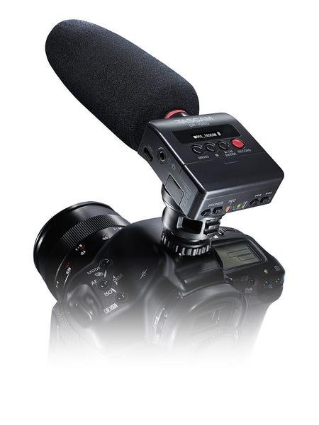TASCAM DR-10SG ショットガンマイク搭載カメラ用リニアPCMレコーダー