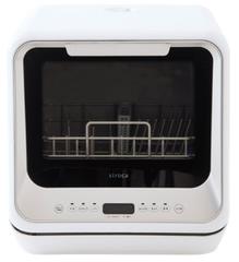 siroca 2WAY食器洗い乾燥機 SS-M151 [工事不要/分岐水栓対応/タイマー搭載/360℃キレイウォッシュ]