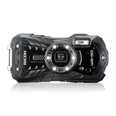 RICOH 防水カメラ WG-50 ガンメタリック ブラック