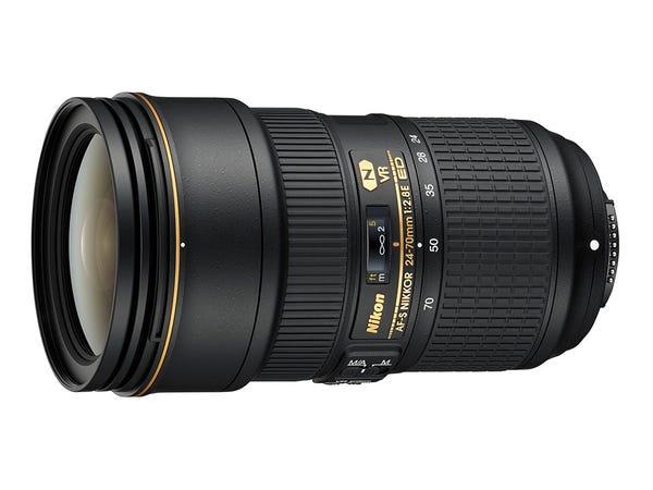 Nikon AF-S NIKKOR 24-70mm f/2.8E ED VR 標準ズームレンズ