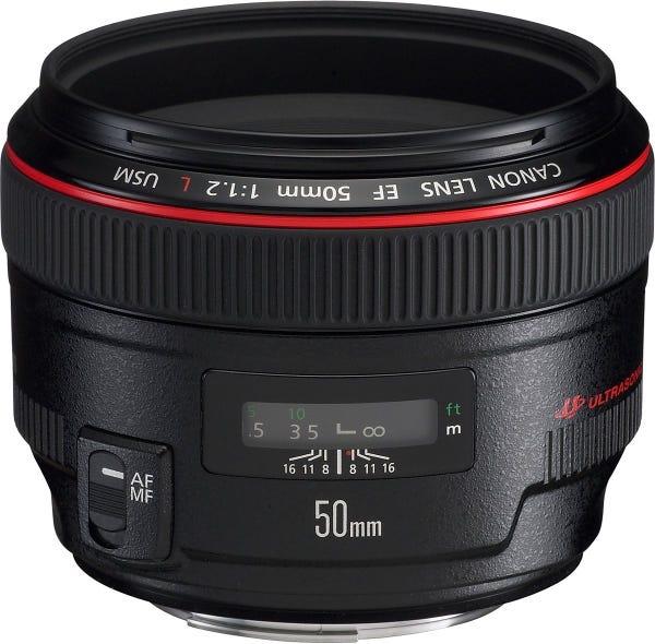 CANON EF 50mm F1.2L USM 単焦点レンズ