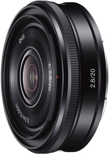 SONY E 20mm F2.8 SEL20F28 単焦点レンズ