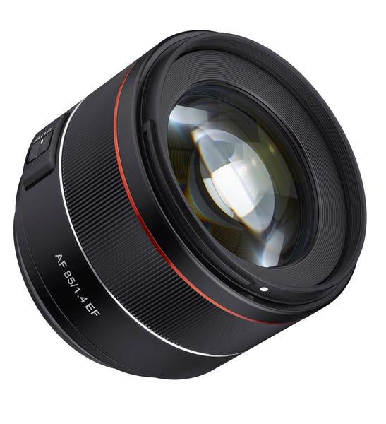 SAMYANG AF 85mm F1.4 単焦点レンズ (CANON EFマウント)
