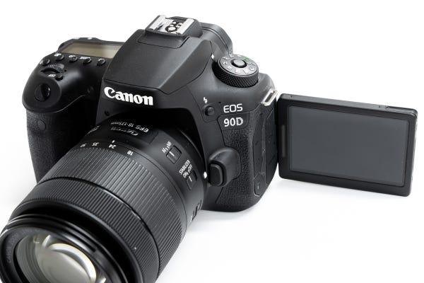 CANON EOS 90Dとタムロンの便利ズームレンズ(18-400mm)のセット 一眼レフ