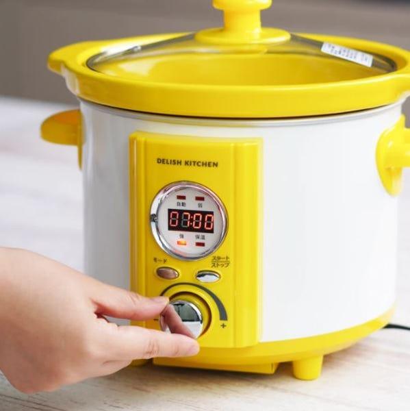 [新品] DELISH KITCHEN コトコト煮込みシェフ 電気調理なべ スロークッカー