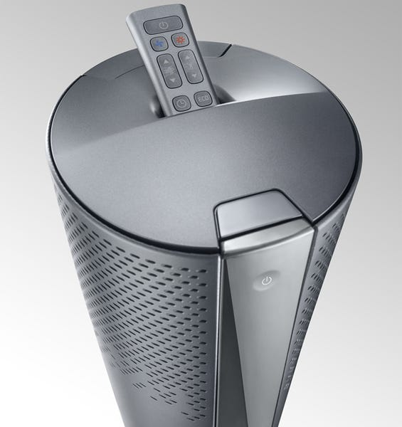 デロンギ 空気清浄機能付き スリムファン 夏冬兼用 HFX85W14C