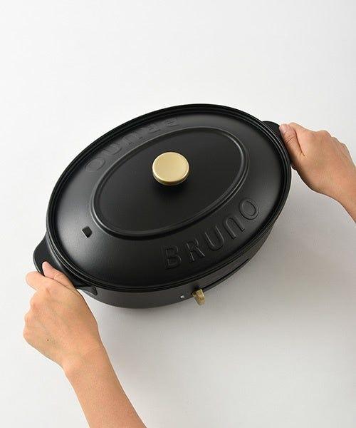[新品] BRUNO オーバルホットプレート BOE053 本体 プレート3種(たこ焼き/深鍋/平面)