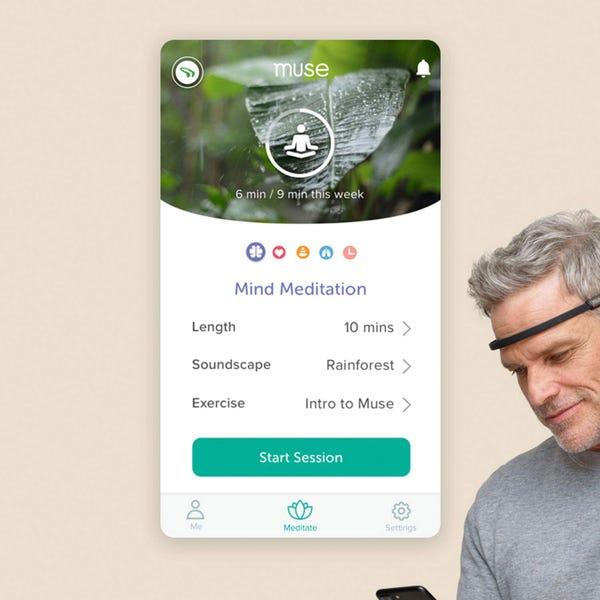 脳活動計測デバイス Muse2 (専用ケース付き)