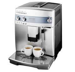 デロンギ エスプレッソマシン マグニフィカ 全自動コーヒーメーカー ESAM03110s エントリーモデル/ミルク泡立てフロッサー付