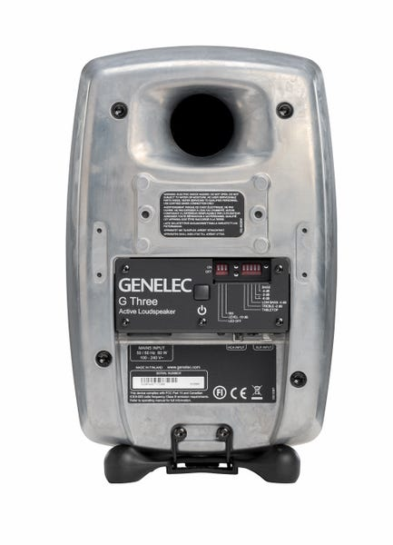 [新品] GENELEC G Three アクティブ・スピーカー 2個セット RAWフィニッシュ
