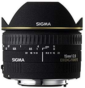SIGMA 15mm F2.8 EX DG DIAGONAL FISHEYE 魚眼レンズ (ペンタックス)