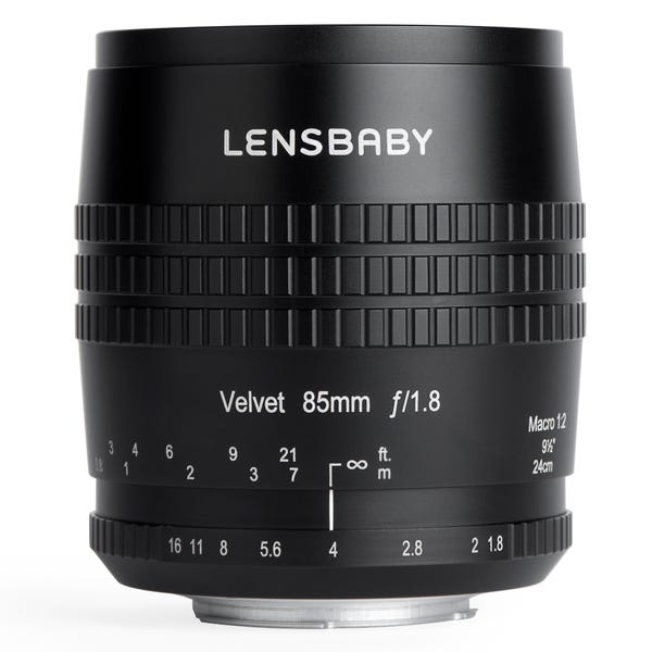 Lensbaby Velvet ベルベット 85mm F1.8 (Nikon Fマウント)
