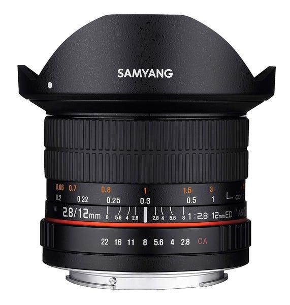SAMYANG 単焦点魚眼レンズ 12mm F2.8 フィッシュアイ (CANON EF-EOS M用)