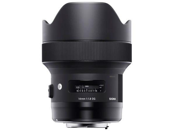 SIGMA 14mm F1.8 DG HSM 単焦点レンズ (NIKON Fマウント) 450557