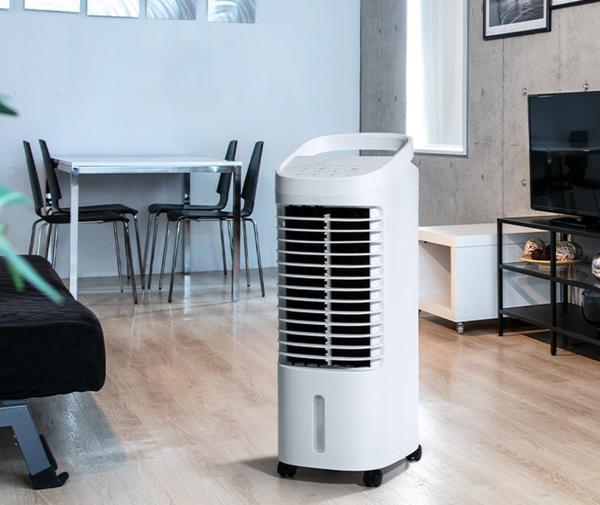スリーアップ 温冷風扇 ヒート&クール HC-T2134WH 容量4.2L