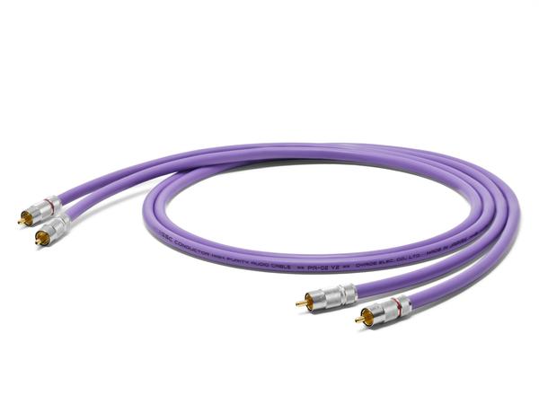 オヤイデ電気 PA-02TR V2 RCAインターコネクトケーブル 1.0mペア