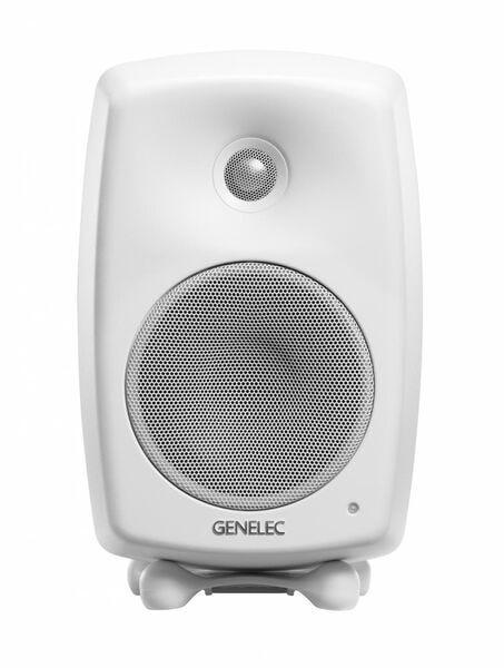 [新品] GENELEC G Three アクティブ・スピーカー 2個セット ホワイト  [もらえるレンタル®]