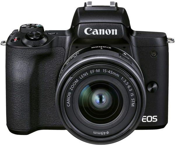 CANON EOS Kiss M2 EF-M15-45 IS STM レンズキット ミラーレス一眼 ブラック