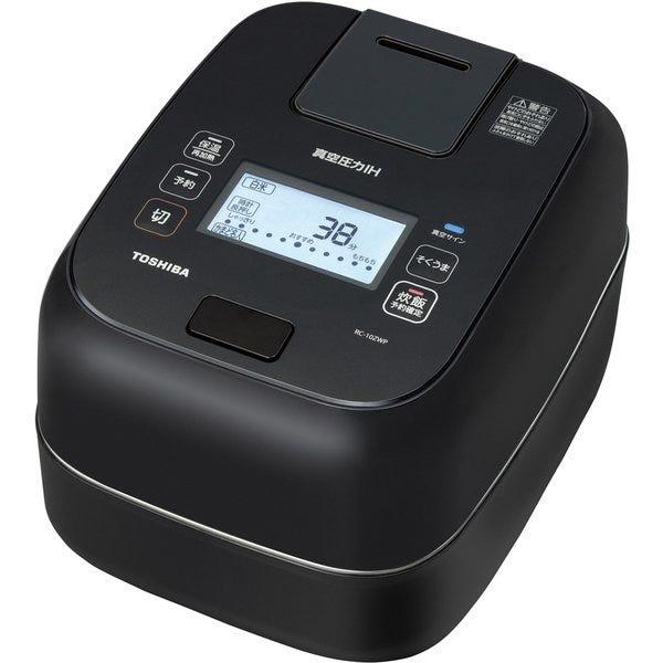 [新品]東芝 真空圧力IH 炊飯器 炎匠炊きRC-10ZWP-K [グランブラック] 1.0L(約5.5合)