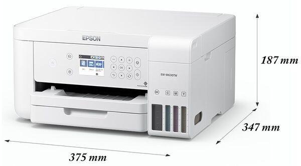 エプソン A4カラープリント対応 エコタンク搭載 インクジェットプリンタ複合機 EW-M630TW