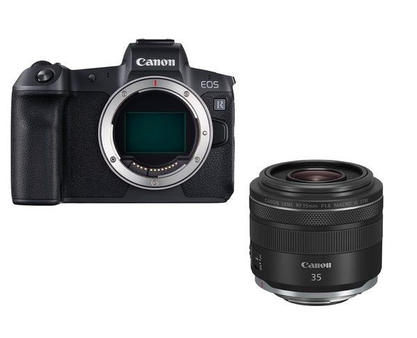 CANON EOS R RF35mm F1.8 マクロ IS STM レンズキット ミラーレス一眼
