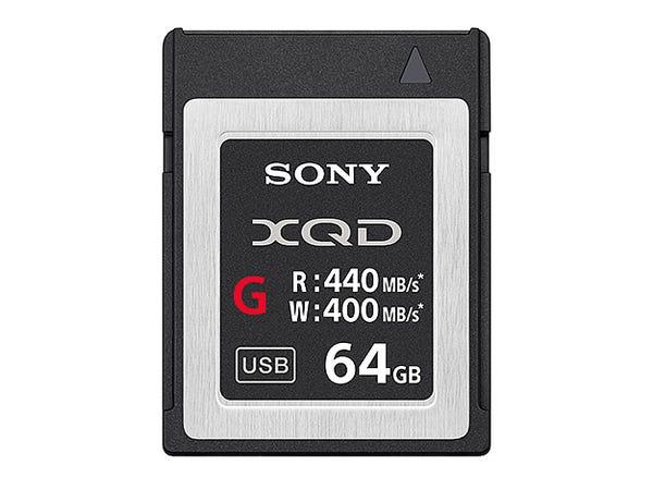 ソニー QD-G64E XQDメモリーカード 64GB