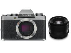 FUJIFILM X-T100 XF35mmF1.4 R 単焦点レンズセット ミラーレス一眼 [レンティオおすすめセット]