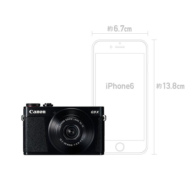 Canon PowerShot G9 X コンパクトデジタルカメラ