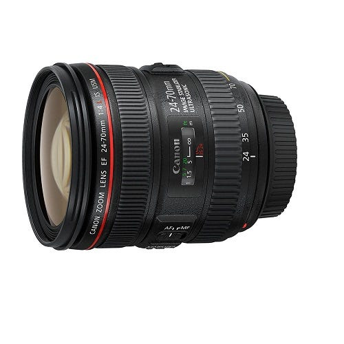 CANON EF24-70mm F4L IS USM 標準ズームレンズ