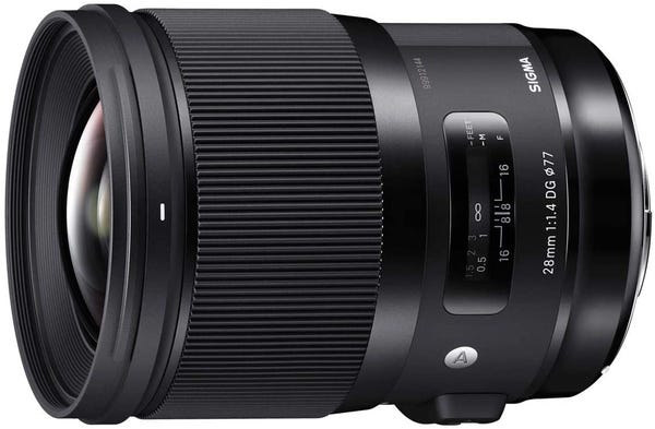 SIGMA 28mm F1.4 DG HSM Art 単焦点レンズ (SONY Eマウント用) 441654