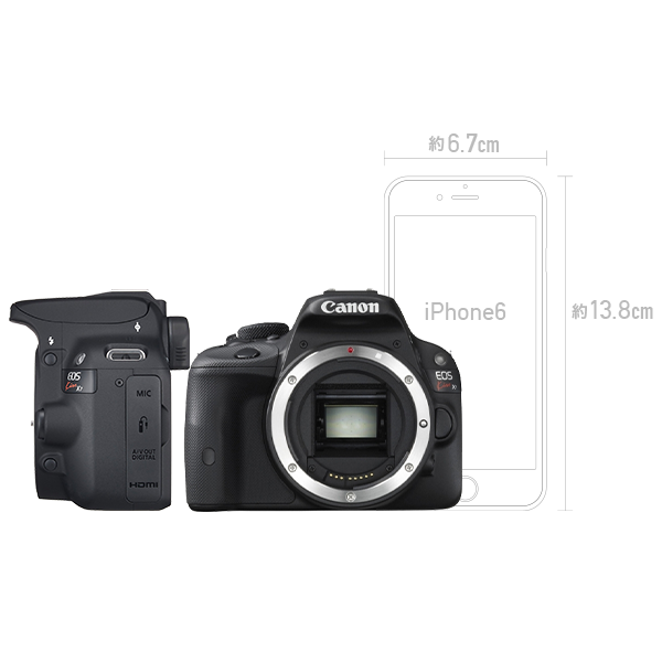 CANON EOS Kiss X7とシグマ便利ズームレンズ(18-300mm)&標準単焦点レンズのセット 一眼レフ