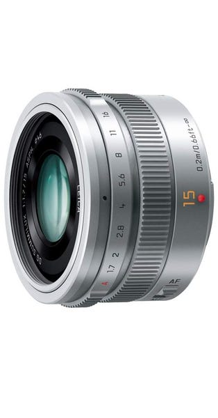 Panasonic LEICA DG SUMMILUX 15mm/F1.7 ASPH. H-X015-S [シルバー] 単焦点レンズ