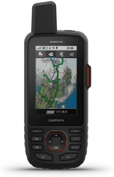 ガーミン GARMIN トレッキング用GPS本体 GPSMAP 66i
