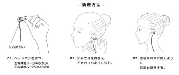 [新品] 耳を塞がないイヤホン ambie ワイヤレスイヤカフ ホワイト