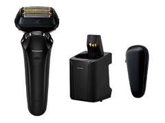 [新品] パナソニック リニアシェーバー ラムダッシュ 6枚刃 ES-LS9N-K 充電中も剃れる* 全自動洗浄充電器付