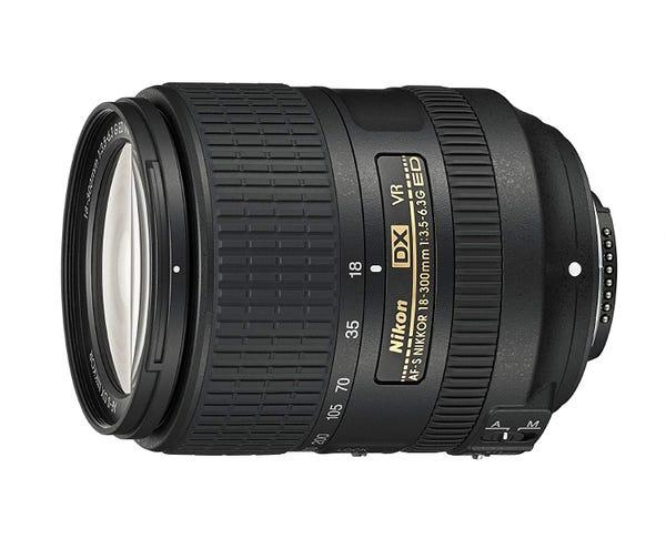 NIKON AF-S DX NIKKOR 18-300mm f/3.5-6.3G ED VR 高倍率ズームレンズ