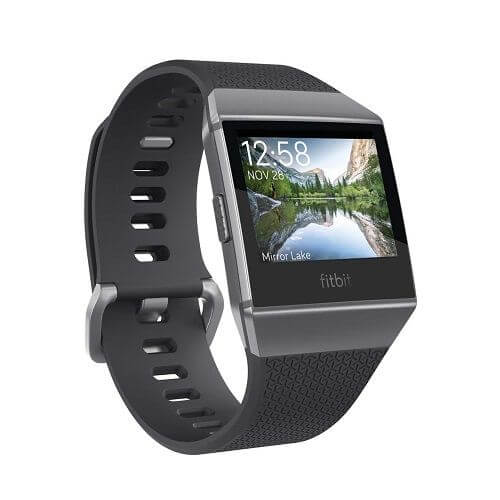 Fitbit フィットネスリストバンド Ionic Small&Large Charcoal