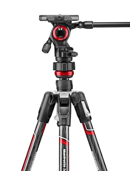 manfrotto befree live カーボンT三脚ビデオ雲台キット
