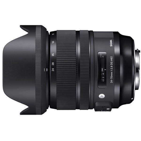 SIGMA 24-70mm F2.8 DG OS HSM 標準ズームレンズ (CANON EFマウント) 576554
