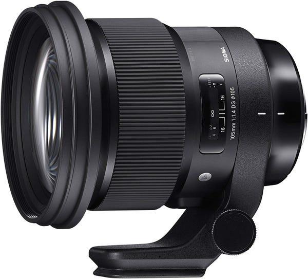 SIGMA 105mm F1.4 DG HSM 単焦点レンズ (SONY Eマウント用) 259655