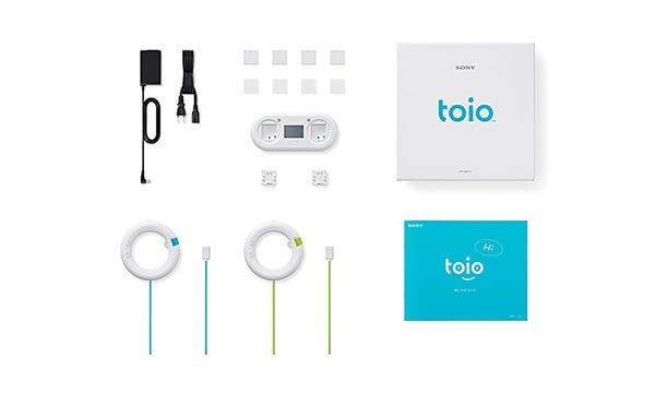 ソニー ロボットトイ toio™(トイオ)「toio本体」+「GoGo ロボットプログラミング ~ロジーボのひみつ~」セット