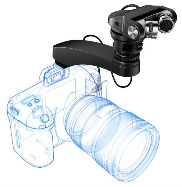 TASCAM TM-2X デジタル一眼レフ用X-Y高音質ステレオマイク