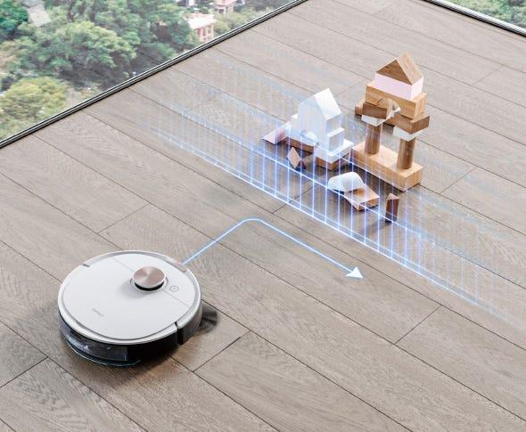 DEEBOT OZMO T8+ ロボット掃除機