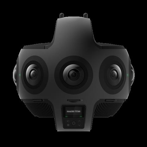 Insta360 Titan プロフェッショナル向け360度カメラ