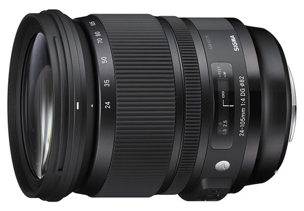 SIGMA Art 24-105mm F4 DG OS HSM 標準ズームレンズ (CANON EFマウント)635541