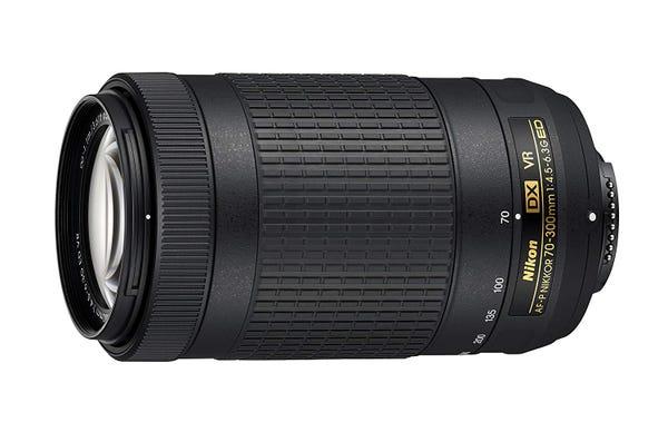 NIKON AF-P DX NIKKOR 70-300mm f/4.5-6.3G ED VR 望遠ズームレンズ