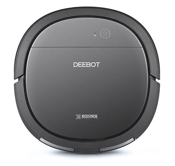 ECOVACS DEEBOT OZMO Slim10 薄型設計(5.7cm)の水拭きもできる家庭用ロボット掃除機